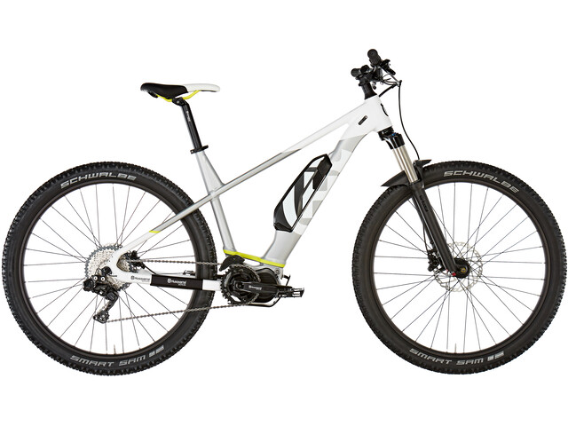 Husqvarna LC4 29 inches cold white metallic/silver metallic/neon yellow